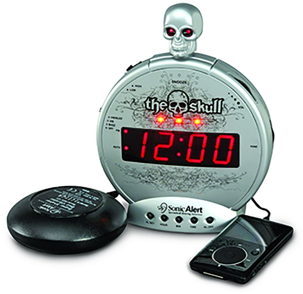 loud alarm clocks for heavy sleepers
