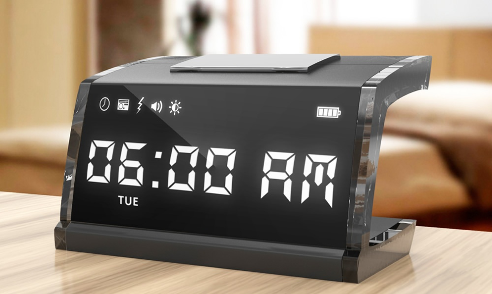 Cool Alarm Clocks No Snooze