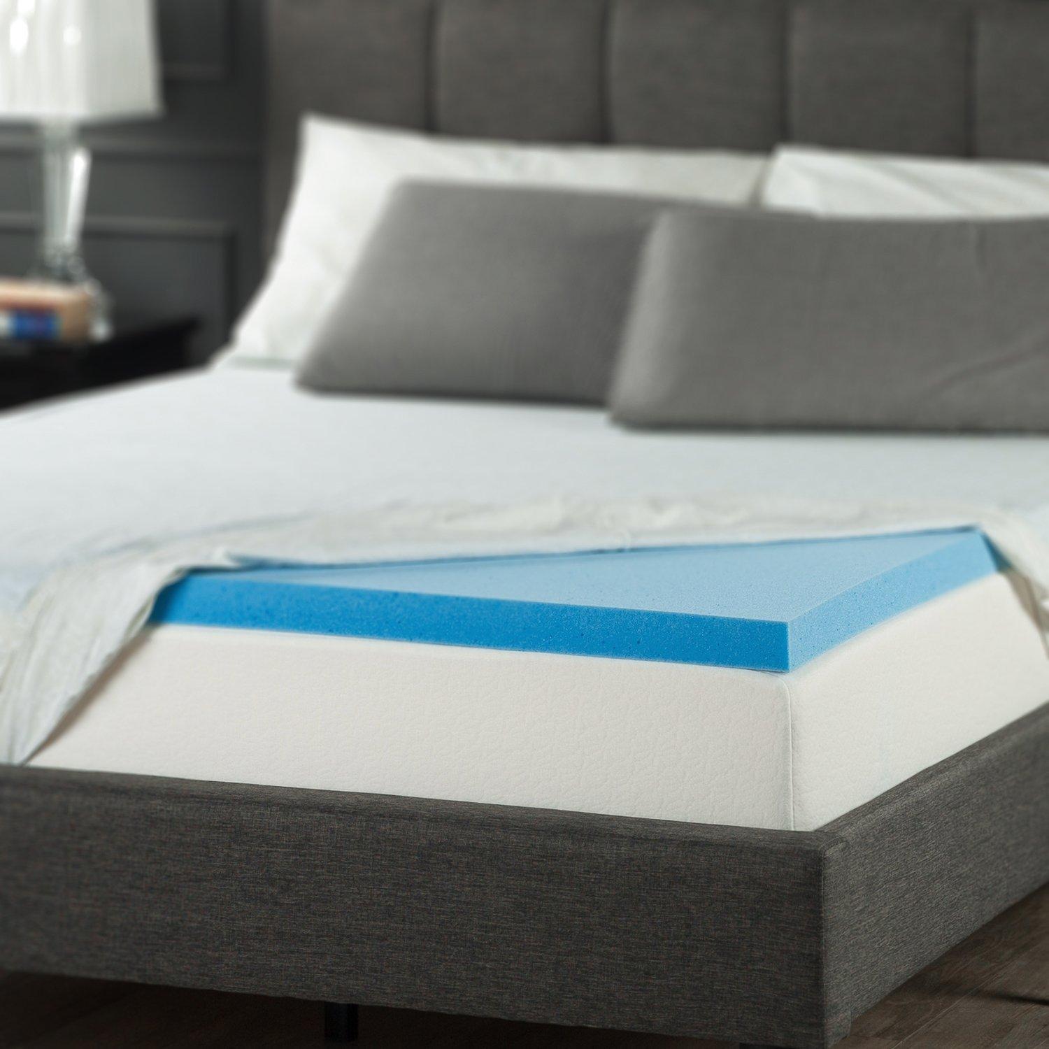 pillow product latex spring topper luxury top mattress double palermo buy