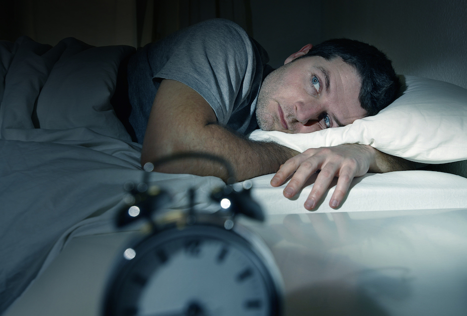 how to deal with anxiety before bed